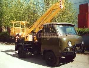 Автовышка УАЗ АГП-9