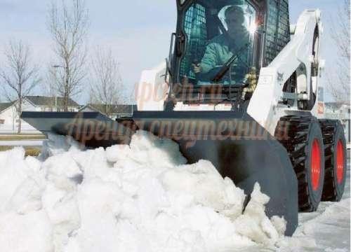 вывоз и уборка территории от снега